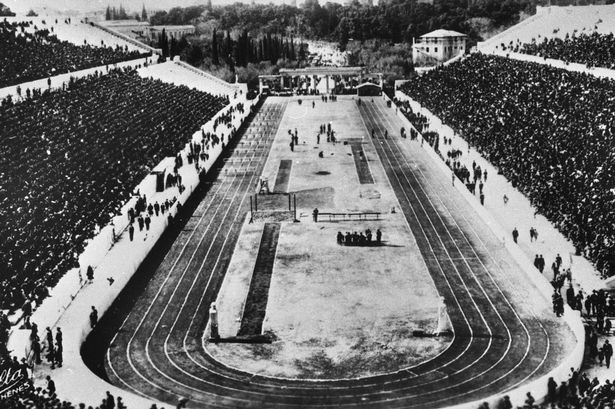 First modern Olympic Games on April 06, 1896
