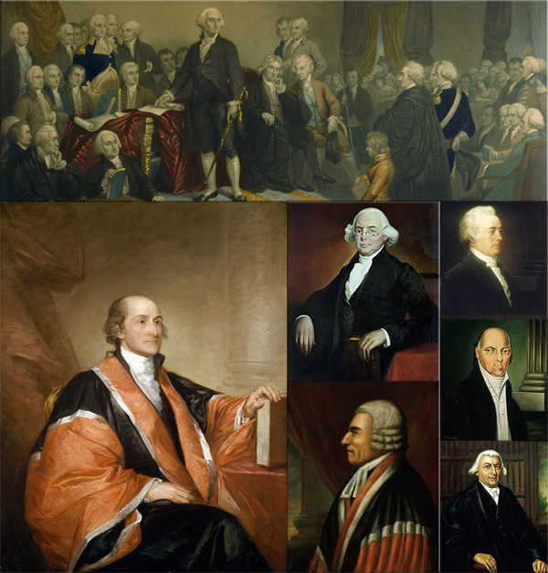 First session of the U.S. Supreme Court on February 01, 1790