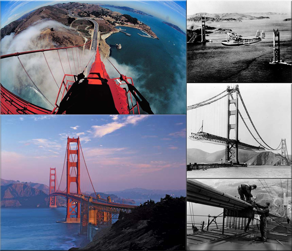 Golden Gate Bridge is born on January 5, 1933