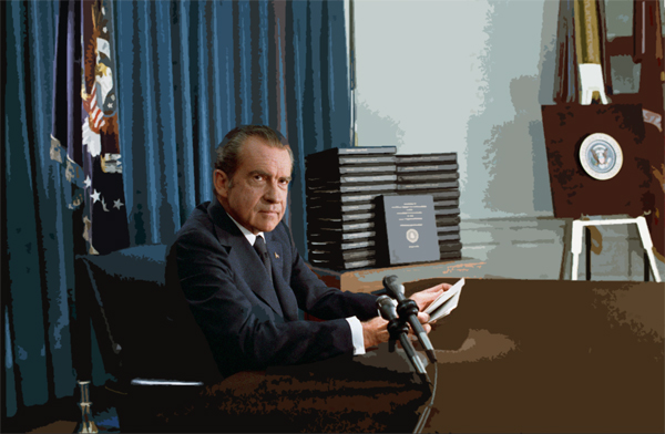 House begins impeachment of Nixon on July 27, 1969