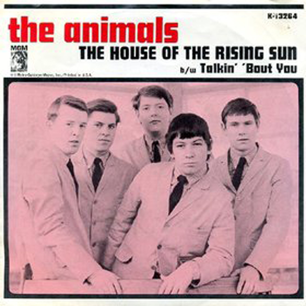 """House Of The Rising Sun"" - The Animals 1964"