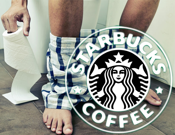 'I've pooped 11 times since this morning' - man allergic to milk rants at Starbucks from his toilet