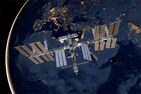 How Does the International Space Station Maintain Its Orientation?