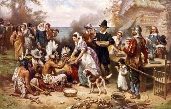The Origins of Thanksgiving Traditions?