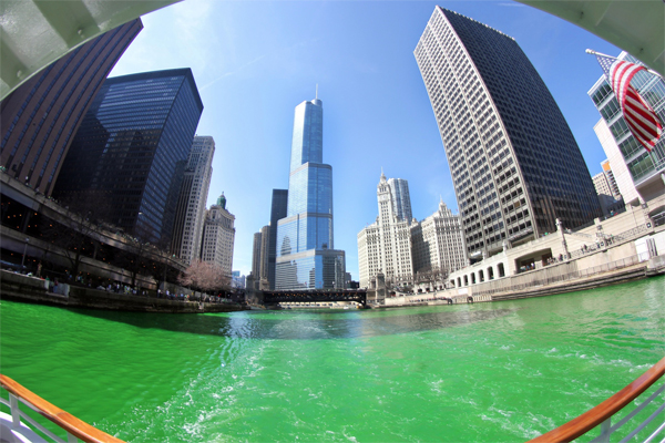 What Do They Use to Dye the Chicago River Green?