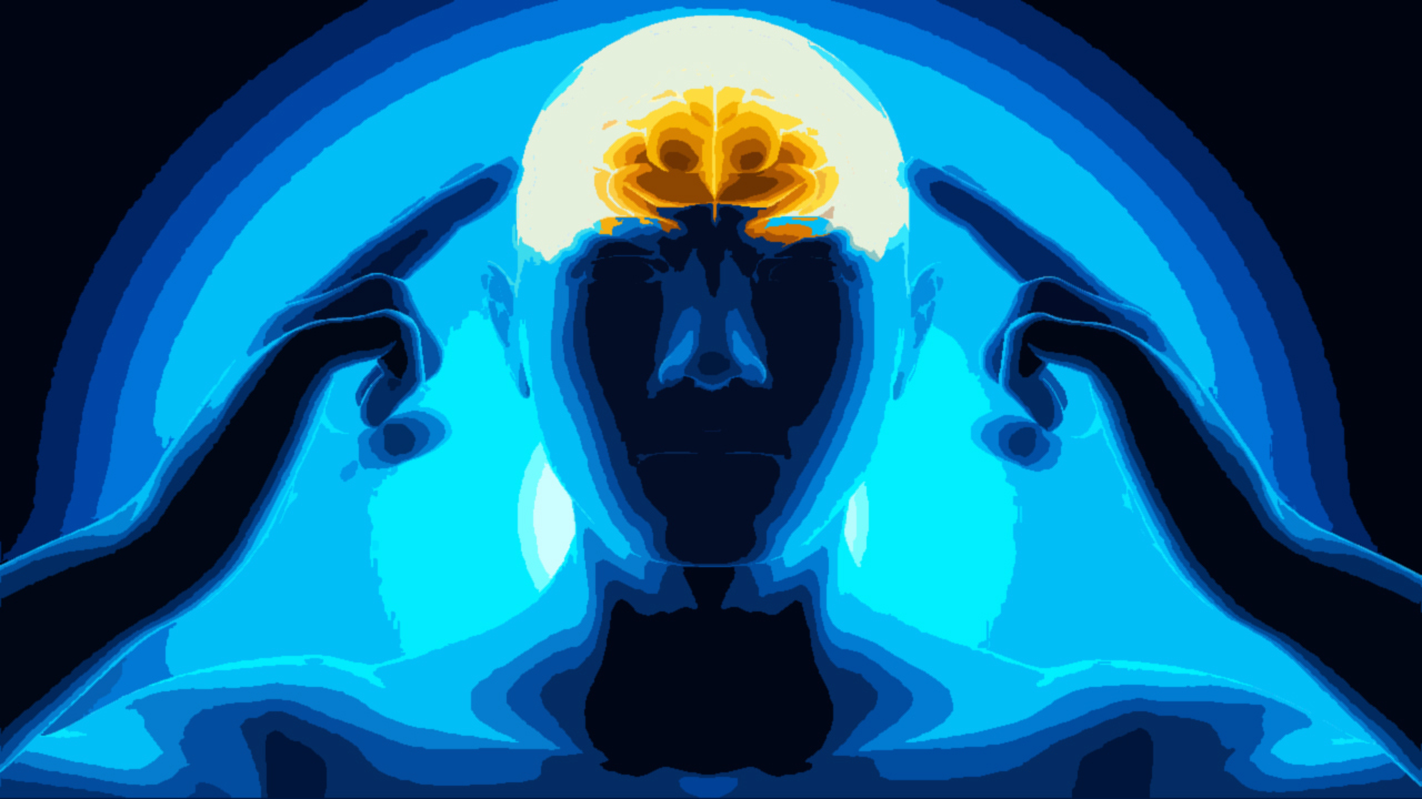 What's the source of energy that powers the human brain?