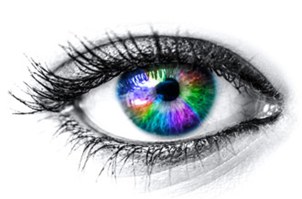 What's the distribution of eye colors in the world?