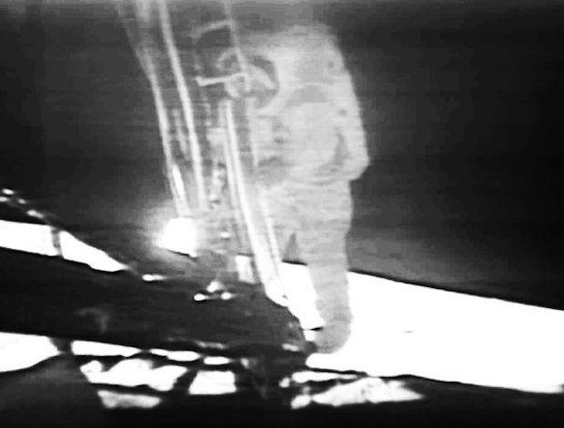 Who Took the Photo of the First Man on the Moon?