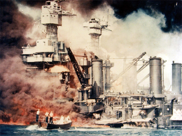 Pearl Harbor bombed on December 7, 1941