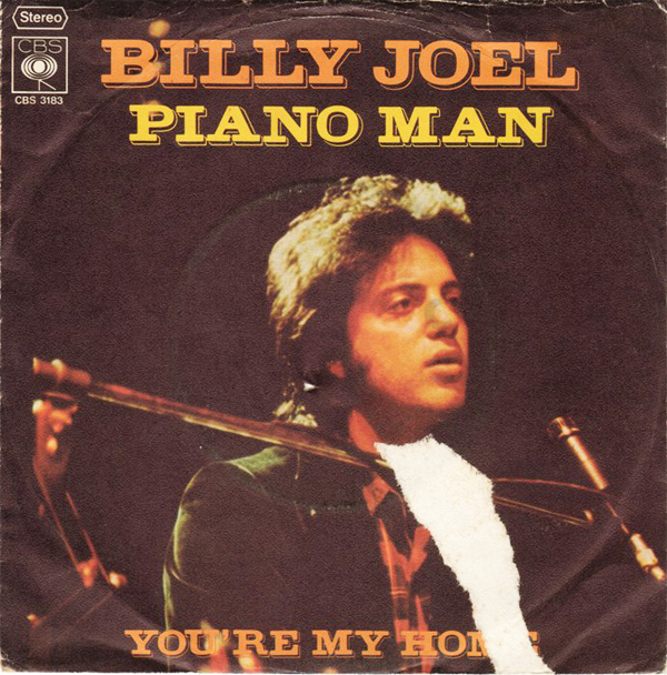 """Piano Man"" - Billy Joel 1973"