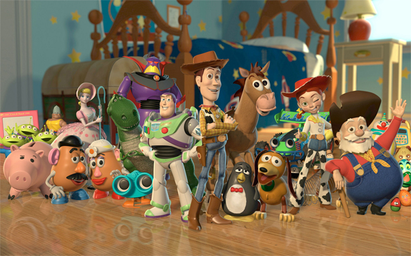 Production begins on Toy Story on January 19, 1993