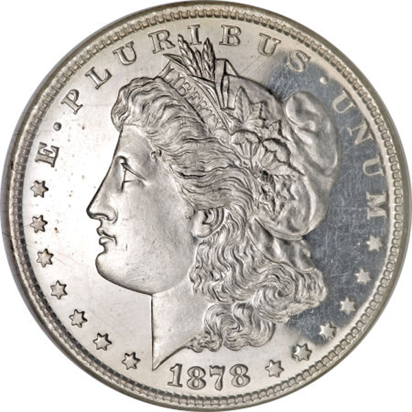 Silver dollars made legal on February 16, 1878