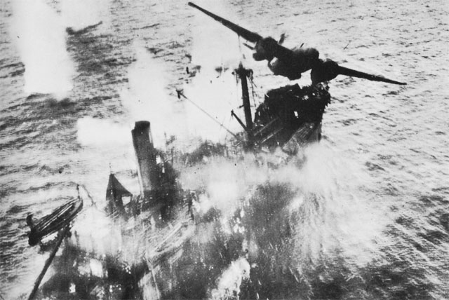 The Battle of the Bismarck Sea on March 02, 1943