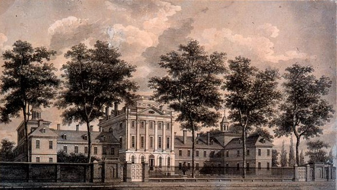 The First Hospital Founded (Pennsylvania Hospital) in the 13 Colonies in America on May 11, 1751
