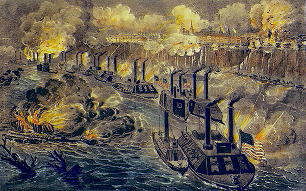 The siege of Vicksburg commences on May 18, 1863