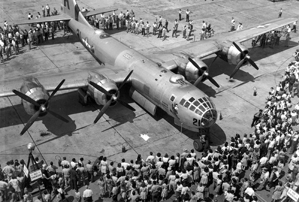 The Superfortress takes flight on September 07, 1940