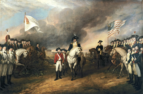 Victory at Yorktown on October 19, 1781
