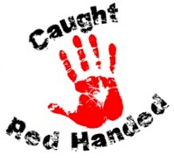 "Where Did That Saying Come From? ""Caught Red-Handed"""
