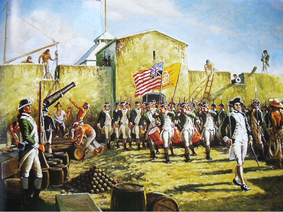The American Continental Army is disbanded on Novmber 3, 1783