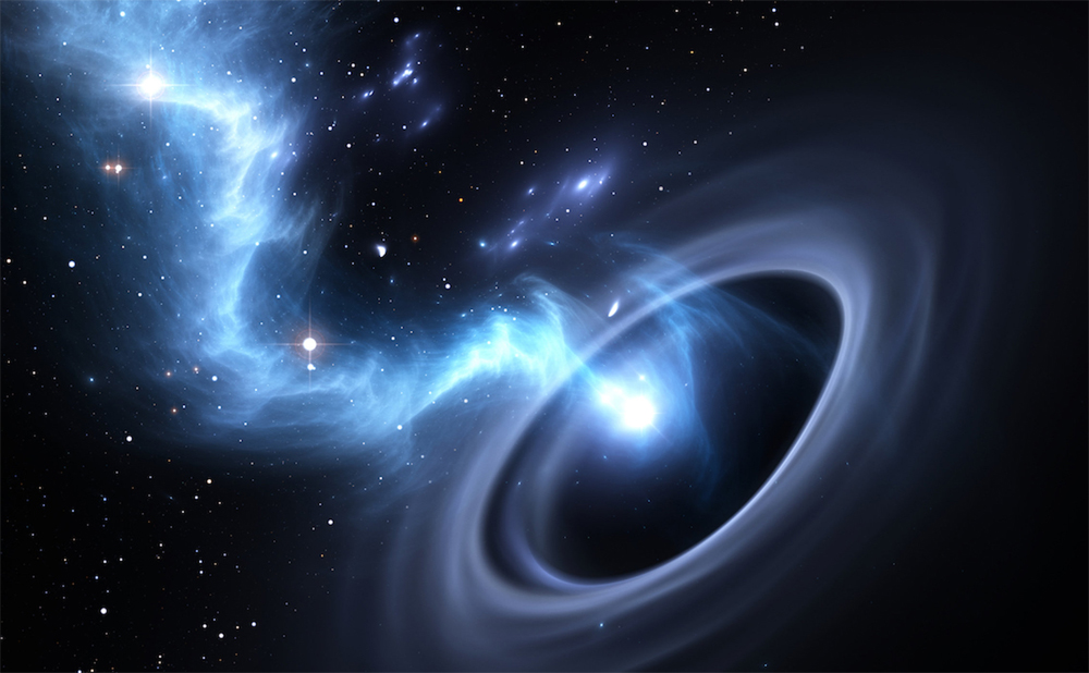 Matter Sucked in by Black Holes May Travel into the Future, Get Spit Back Out