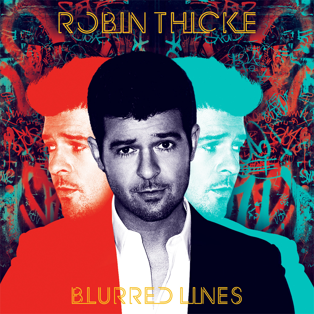 """Blurred Lines"" - Robin Thicke 1997"