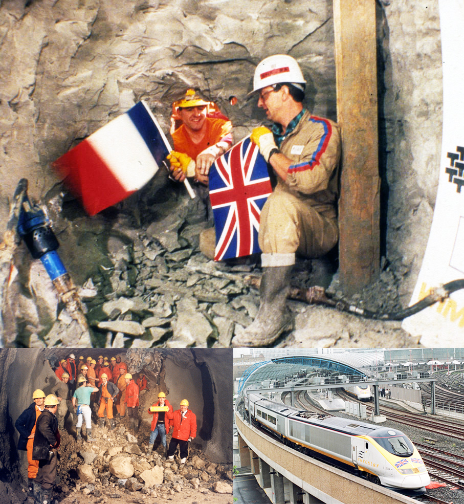 Chunnel makes breakthrough on December 01, 1990