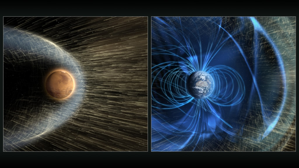 Magnetic field at Martian surface ten times stronger than expected