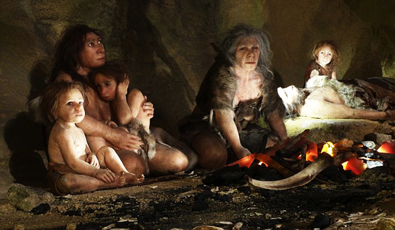 Neanderthals went underwater for their tools