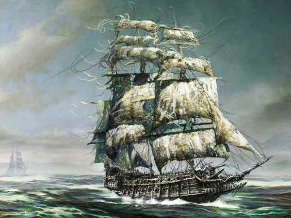 """Tales of Legendary Ghost Ships - Legend of the Ghost Ship Lady Lovibond"""