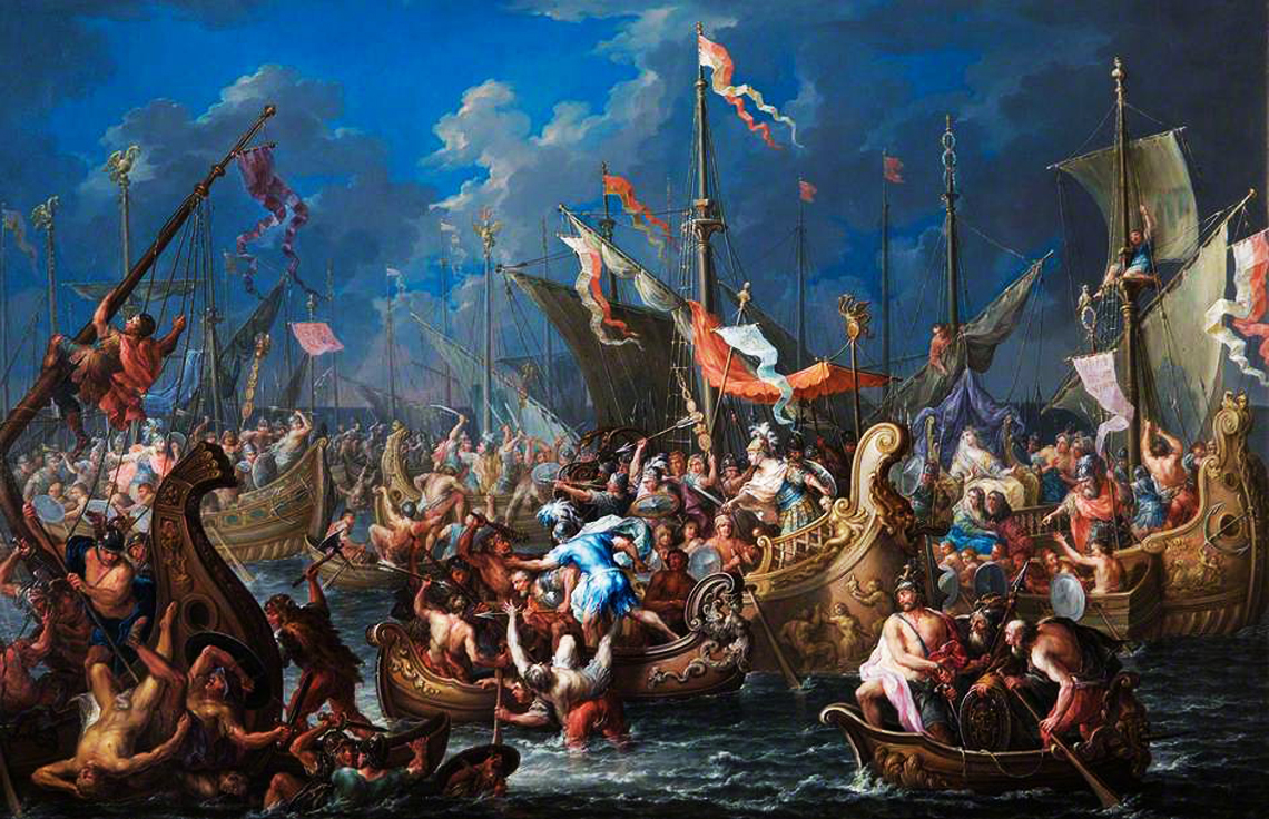 Battle of Actium on September 02, 31 BC