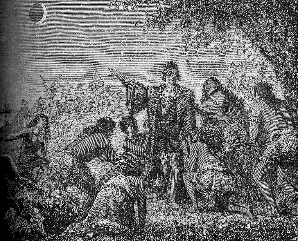 Christopher Columbus uses his knowledge of a lunar eclipse that night to convince Native Americans to provide him with supplies on February 29, 1504