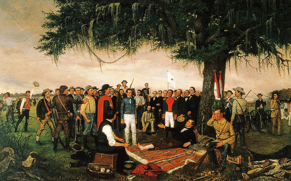 Texas Revolution: The Battle of San Jacinto; The Capture of Santa Anna on April 22, 1836
