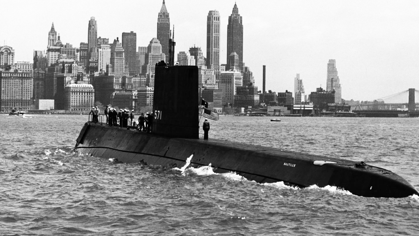 USS Nautilus - world's first nuclear submarine is commissioned on September 30, 1954