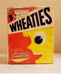 "Famous Quotes 1935: ""The breakfast of champions"" ~ Wheaties"