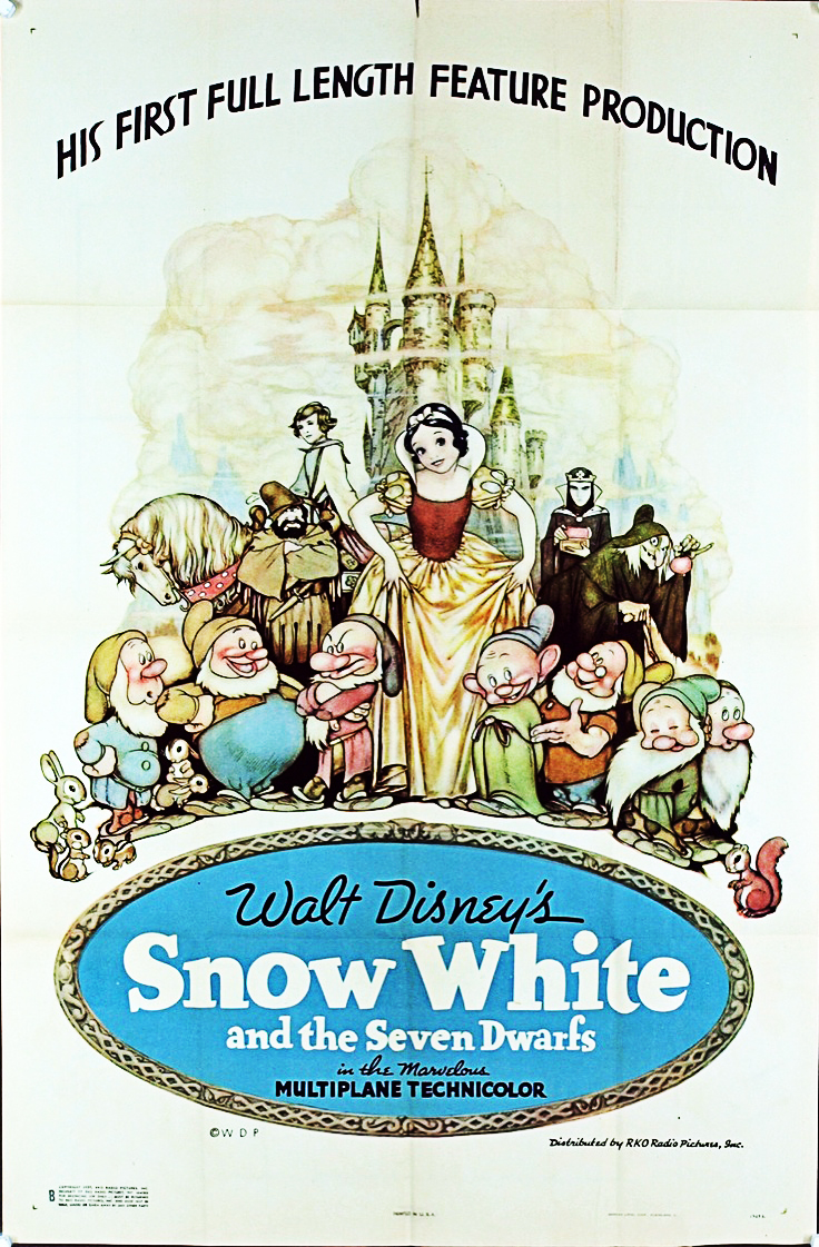 Most Popular Movies: 1937: Snow White and the Seven Dwarfs