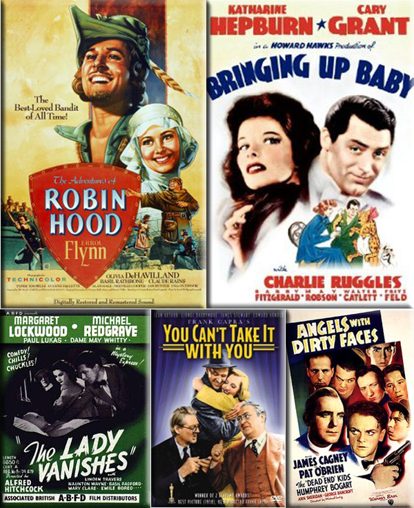 Most Popular Movies: 1938: The Adventures of Robin Hood