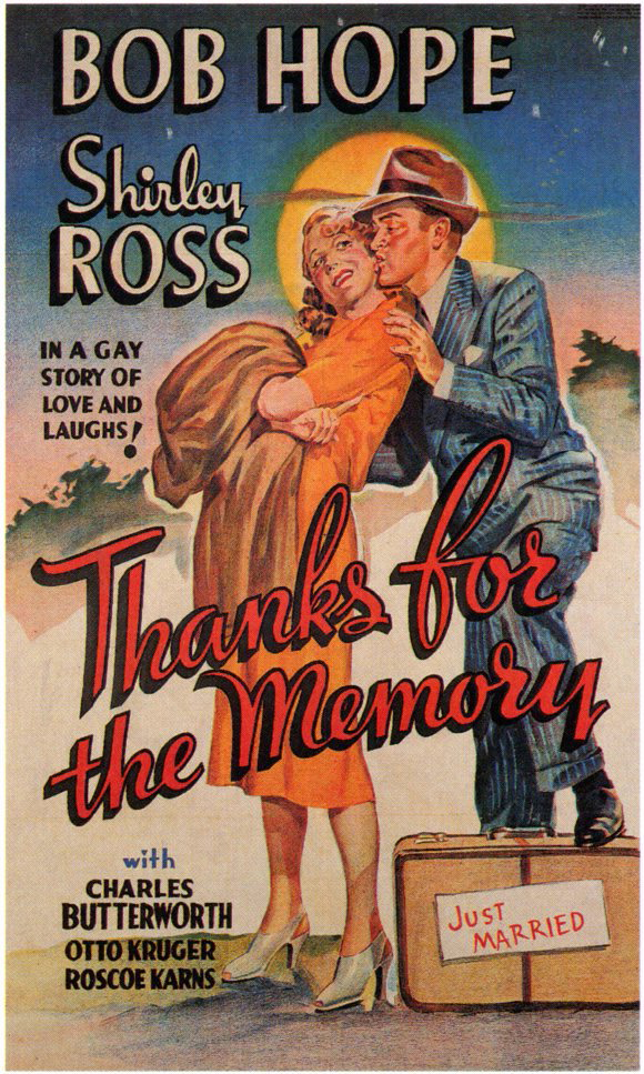 1938 Top Songs - Thanks For the Memory – Bob Hope & Shirley Ross