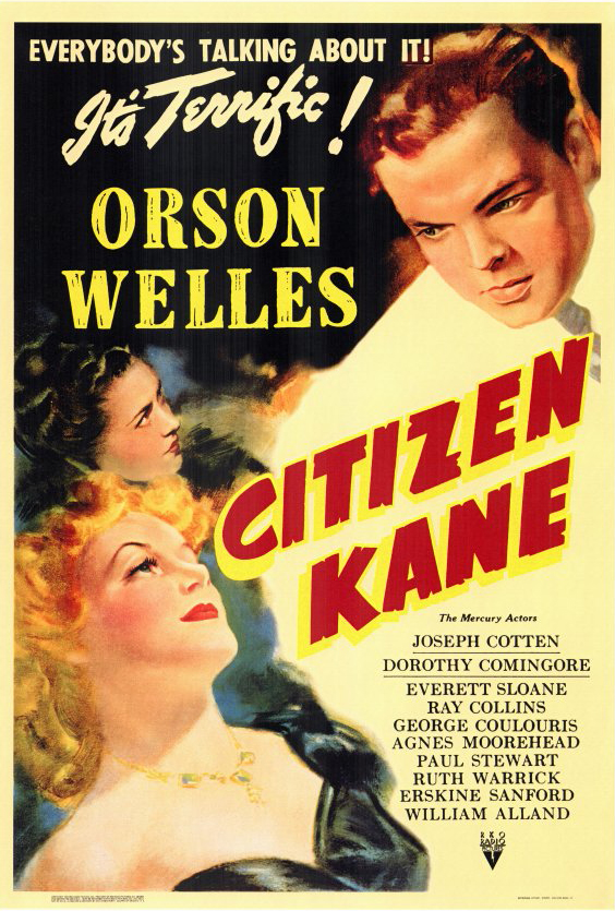 Most Popular Movies: 1941: Citizen Kane