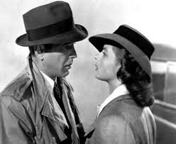 "Famous Quotes 1942: ● ""Here's looking at you, kid"" ~ Humphrey Bogart in 'Casablanca'"