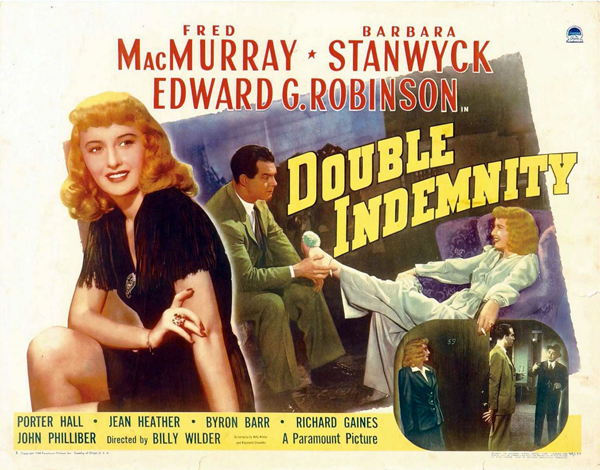 Most Popular Movies: 1944: Double Indemnity