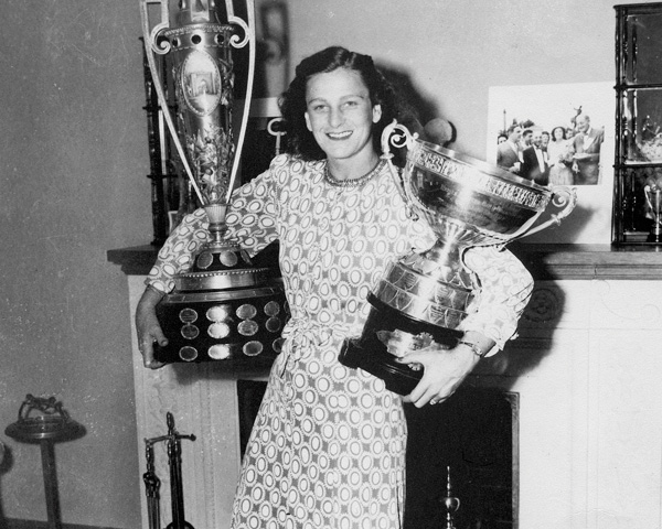 Associated Press Female Athlete of the Year – Babe Didrikson Zaharias, LPGA golf