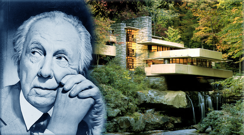 Famous Quotes 1953: 'The physician can bury his mistakes, but the architect can only advise his client to plant vines – so they should go as far as possible from home to build their first buildings' - Frank Lloyd Wright
