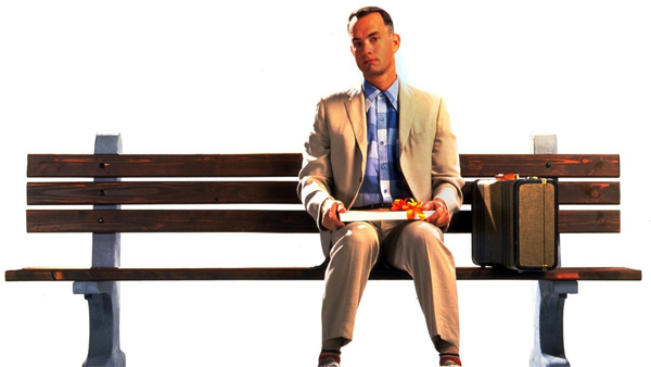 "Famous Quotes 1994: ""My momma always said that - life was like a box of chocolates, you never know what you're gonna get."""