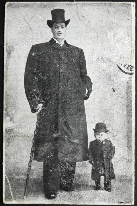 Adam Rainer was both a giant as well as a dwarf over the course of his lifetime - the only man in history to be so