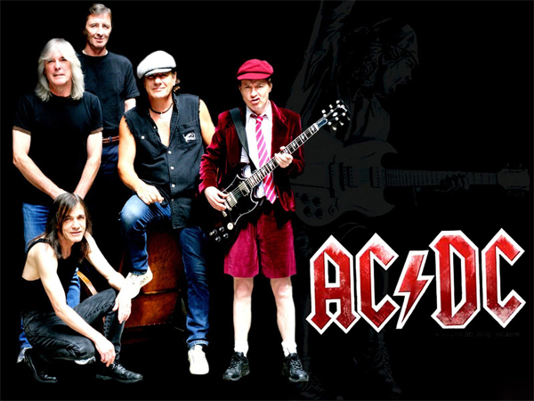 """Back In Black"" -  AC/DC 1980"