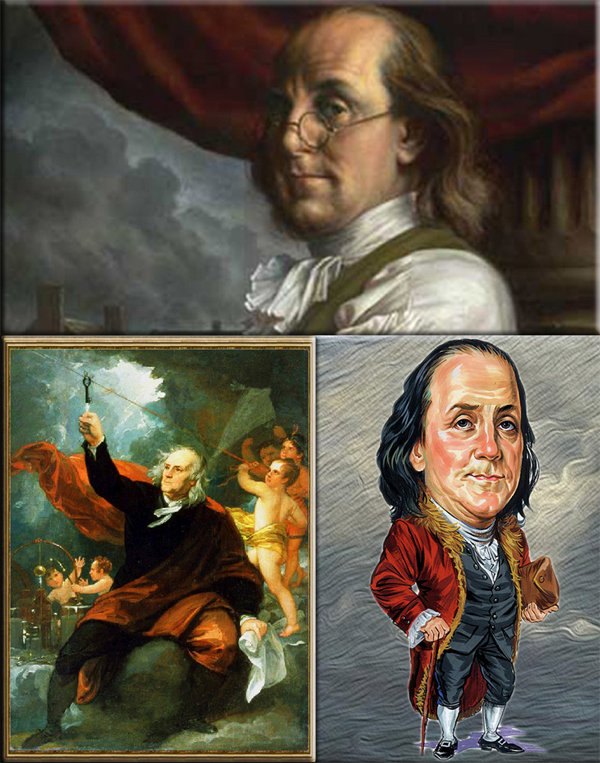 "Benjamin Franklin: painting by Michael J Deas | ""Benjamin Franklin Drawing Electricity from the Sky"" by Benjamin West (1738-1820) Philadelphia Museum of Art"