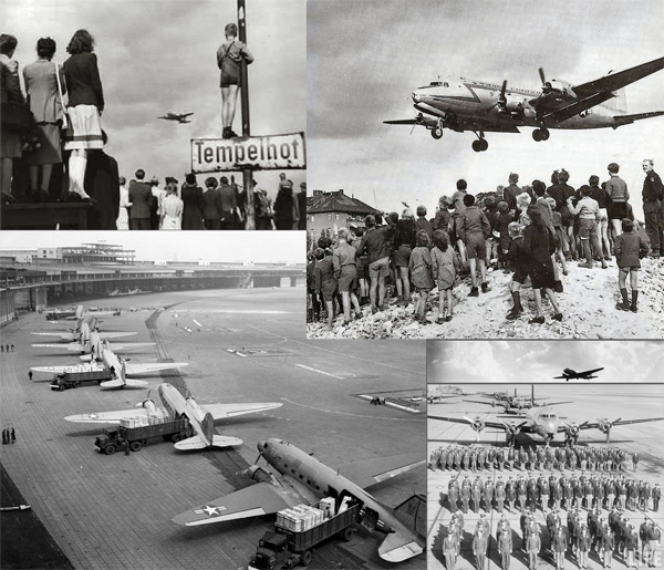 Berlin blockade lifted on May 12, 1949