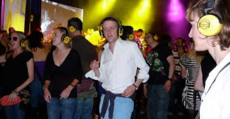 "Silent disco ""too loud"" for Salzburg"
