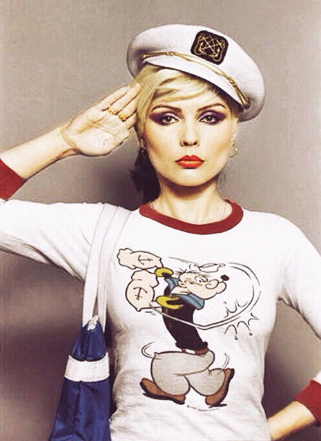 Blondie - Debbie Harry style icon Popeye T-shirt