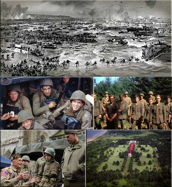 D-Day: resulted in the Allied liberation of Western Europe from Nazi Germany's control